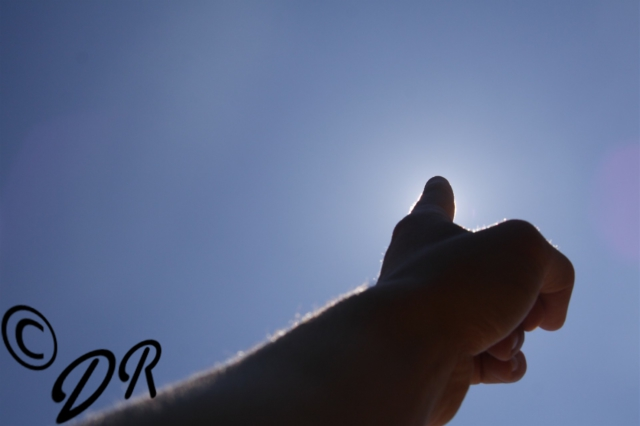 Sonne, Finger