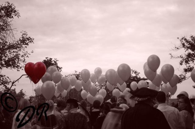 Luftballon, Herz, neu gesehen